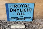 Royal Daylight Double Sided Enamel Sign