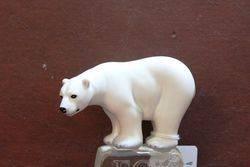 Royal Doulton Fox Polar Bear Porcelain Figure