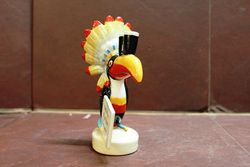 Royal Doulton Guiness Big Chief Toucan Porcelain Advertising Figure
