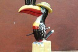 Royal Doulton Guiness Toucan Porcelain Advertising Figure