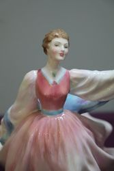 Royal Doulton Lady Figurine Gay Morning  HN 2135
