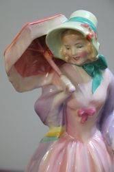 Royal Doulton  Miss Demure HN 1402