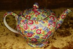Royal Winton Royalty Chintz Albans 4 cup Tea Pot