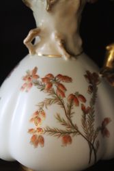Royal Worcester Hand Decorated Jug C1891