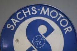 SachsMotor Service Tin Advertising Sign