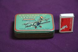 Samuel Gawith and Co  Squadron Leader Curly Cut Tobacco Tin