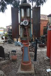 Satam 2 Door Twin Cylinder Manual Petrol Pump