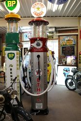 Satam 4 Cylinder Double Manual Petrol Pump