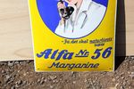 Scandinavian Margarine Pictorial Enamel Sign