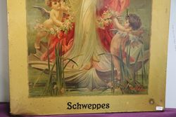 Schweppes Pictorial Advertising Sign