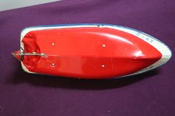 Sea Hawk S57 Boat Tin Toy