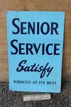 Senior Service Tin Sign