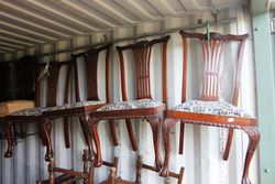 Set Of 4 Chippendale Style Chairs