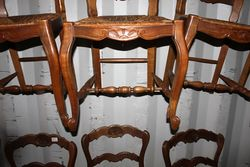 Set Of 6 French dining chairs