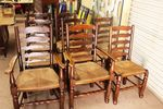 Set Of 8 Chairs including 2 carvers