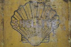 Shell 4 Gallons Oil Tin