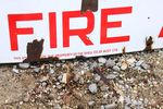 Shell Inflammable Liquids Enamel Sign