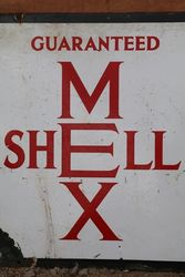 Shell Mex Enamel Advertising Sign