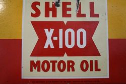 Shell X100 10 Bottle Oil Rack
