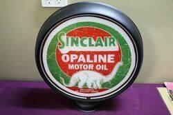 Sinclair Dino Opaline Petrol Pump Canteen