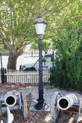 Single Cast Iron Tudor  Lamp