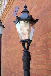 Single Cast Iron Tudor  Lamp
