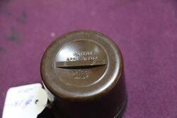 Small Brown Bakelite Ash Tray