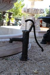 Small Cast Iron Antique Style Well Pump