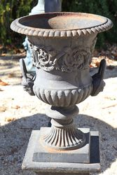 Small Dorchester Urn And Base