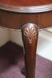 Small Round Mahogany Table