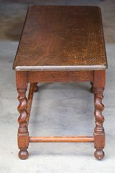 Small Twist Leg Table