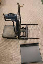 Small Victorian Cast Iron Platform Scales