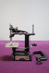 Smith + Egge Automatic Miniature Sewing Machine C1896