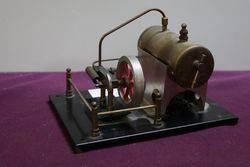 Solid Brass Live Steam Engine