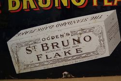 St Bruno Flake Enamel Sign