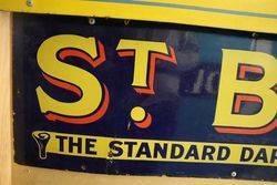 St Brunos Strip Enamel Sign