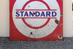 Standard Enamel Advertising Sign
