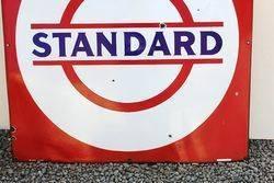 Standard Enamel Advertising Sign