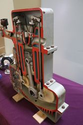 Student Display Cut Out Piston Engine