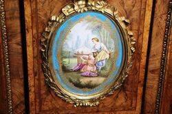 Stunning Antique Burr Walnut Credenza
