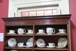 Stunning Edwardian Mahogany Inlaid Bookcase c1900