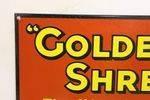 Stunning Golden Shred Marmalade Enamel Sign