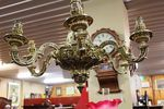 Superb 19th Century Ormolu 6 Branch Chandelier