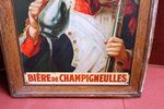 Superb Early Pictorial Tin Advertising Sign