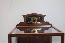 Swan Pens Shop Display Cabinet