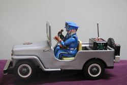 TN Japan Police Patrol Jeep