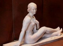 Terracotta Nude of Modesty