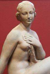 Terracotta Nude of Modesty