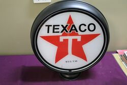 Texaco Caltex 6in Petrol Pump Globe