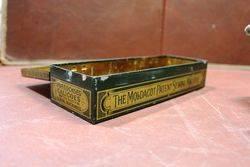 The Moldacot Pocket Lockstitch Antique Sewing Machine In Original Case